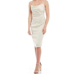 laundry by shelli segal satin cocktail dress